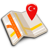 Map of Turkey offline icono