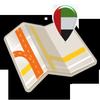 Map of UAE offline biểu tượng