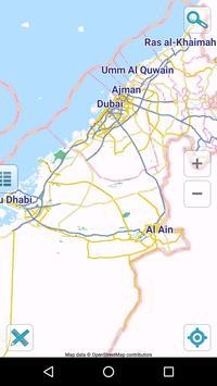 Map of UAE offline bài đăng