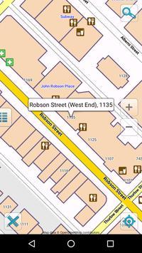 Map of Vancouver offline apk screenshot
