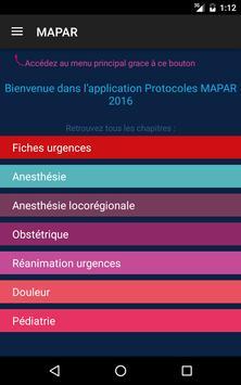 Protocoles MAPAR screenshot 10