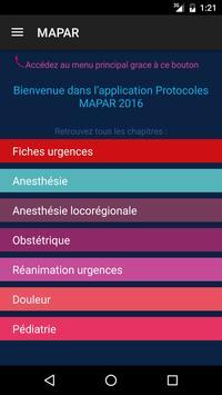 Protocoles MAPAR plakat