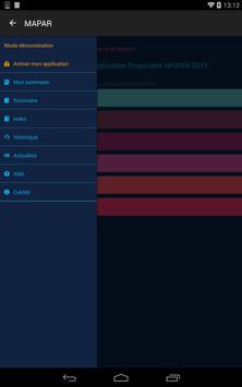 Protocoles MAPAR screenshot 5