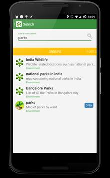 Mapunity Groups apk screenshot