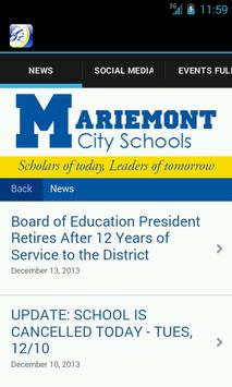 Mariemont School District poster