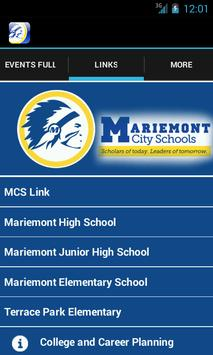 Mariemont School District apk screenshot