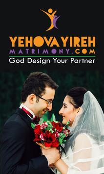 Yehova Yireh Christian Matrimony poster