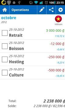 Traveler Money Helper apk screenshot