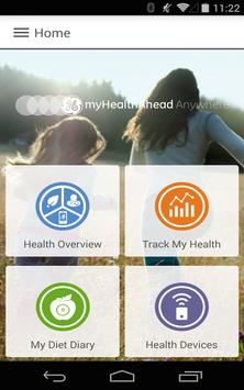 myHealthAhead Anywhere poster