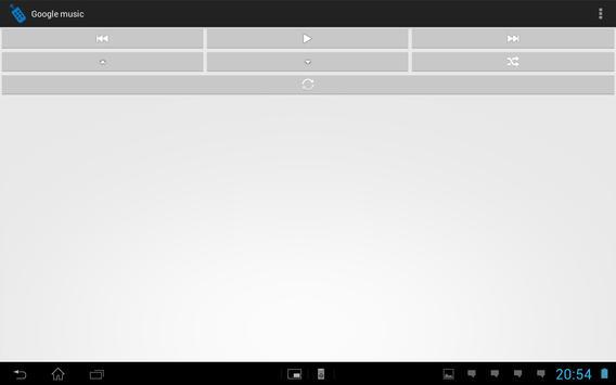 Télécommande média apk screenshot