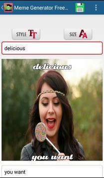 Generator Meme Free apk screenshot