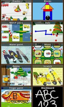 兒童幼兒遊戲冬季(F) 海報