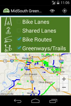 Mid-South Greenways poster