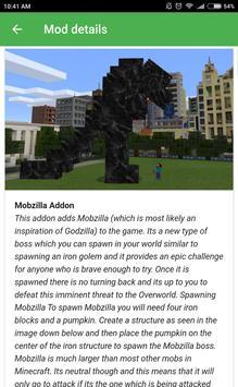 Popular mods for Minecraft PE screenshot 6