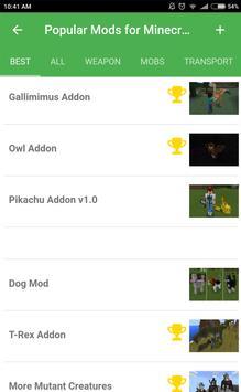 Popular mods for Minecraft PE screenshot 8