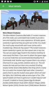 Popular mods for Minecraft PE screenshot 3