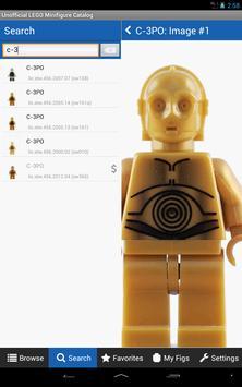 Minifigure Catalog for LEGO apk screenshot
