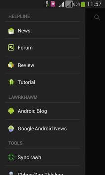 Mizo Android Helpline (Thar) poster