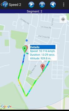 GPS Trip Analyzer apk screenshot