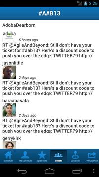 Agile and Beyond 2013 poster