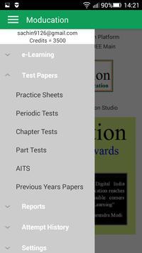 Test Series for NEET AIIMS JEE Main JEE Advanced apk screenshot