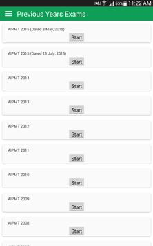 NEET AIIMS JEE Main Advanced Mock Practice Test apk screenshot
