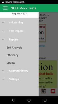 NEET Mock Practice Tests Best App for NEET 2019 screenshot 3