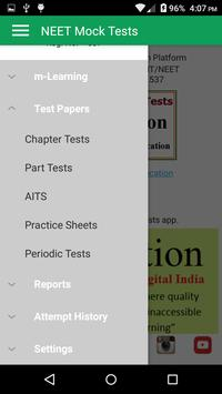NEET Mock Practice Tests Best App for NEET 2019 screenshot 2