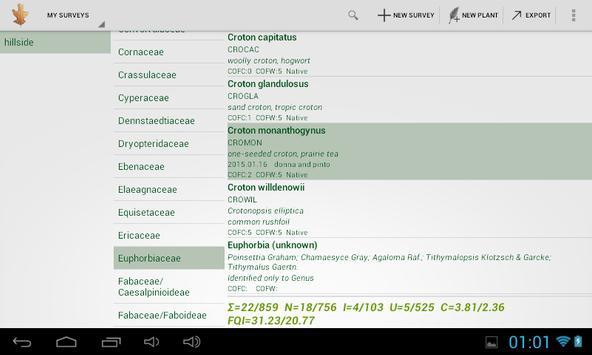PlantList screenshot 3
