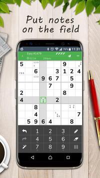 Sudoku-Free number puzzle game apk screenshot