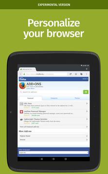 Firefox Nightly for Developers (Unreleased) apk screenshot
