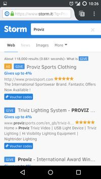 Storm Browser screenshot 2