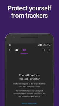 Firefox for Android Beta apk screenshot