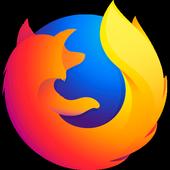 Firefox ブラウザー 高速 & プライベート アイコン