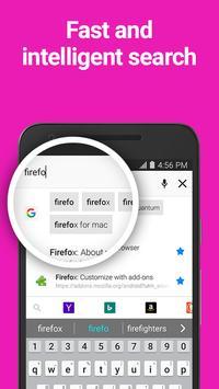 Firefox Browser fast & private apk screenshot