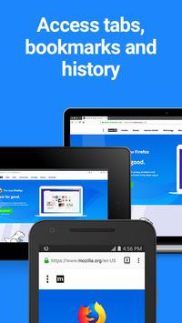 متصفح فَيرفُكس سريع وخاص apk تصوير الشاشة