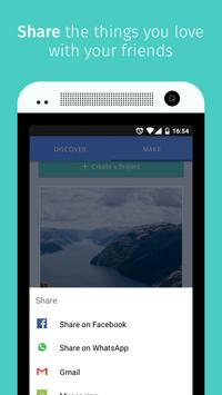 Webmaker apk screenshot