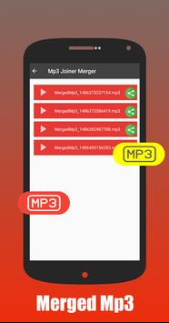 Mp3 Merger & Joiner (Audio) apk screenshot