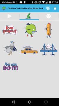TCS NYC Marathon Sticker Pack screenshot 4