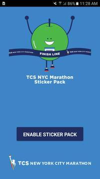 TCS NYC Marathon Sticker Pack poster