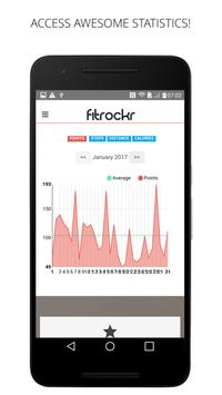 Fitrockr apk screenshot
