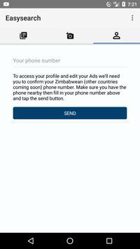 Easysearch Zim apk screenshot