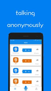 Voice Messager - Anonymously Talking poster
