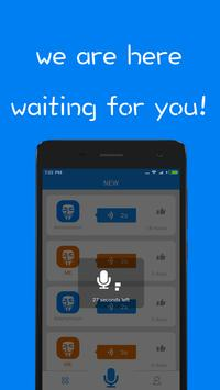Voice Messager - Anonymously Talking apk screenshot