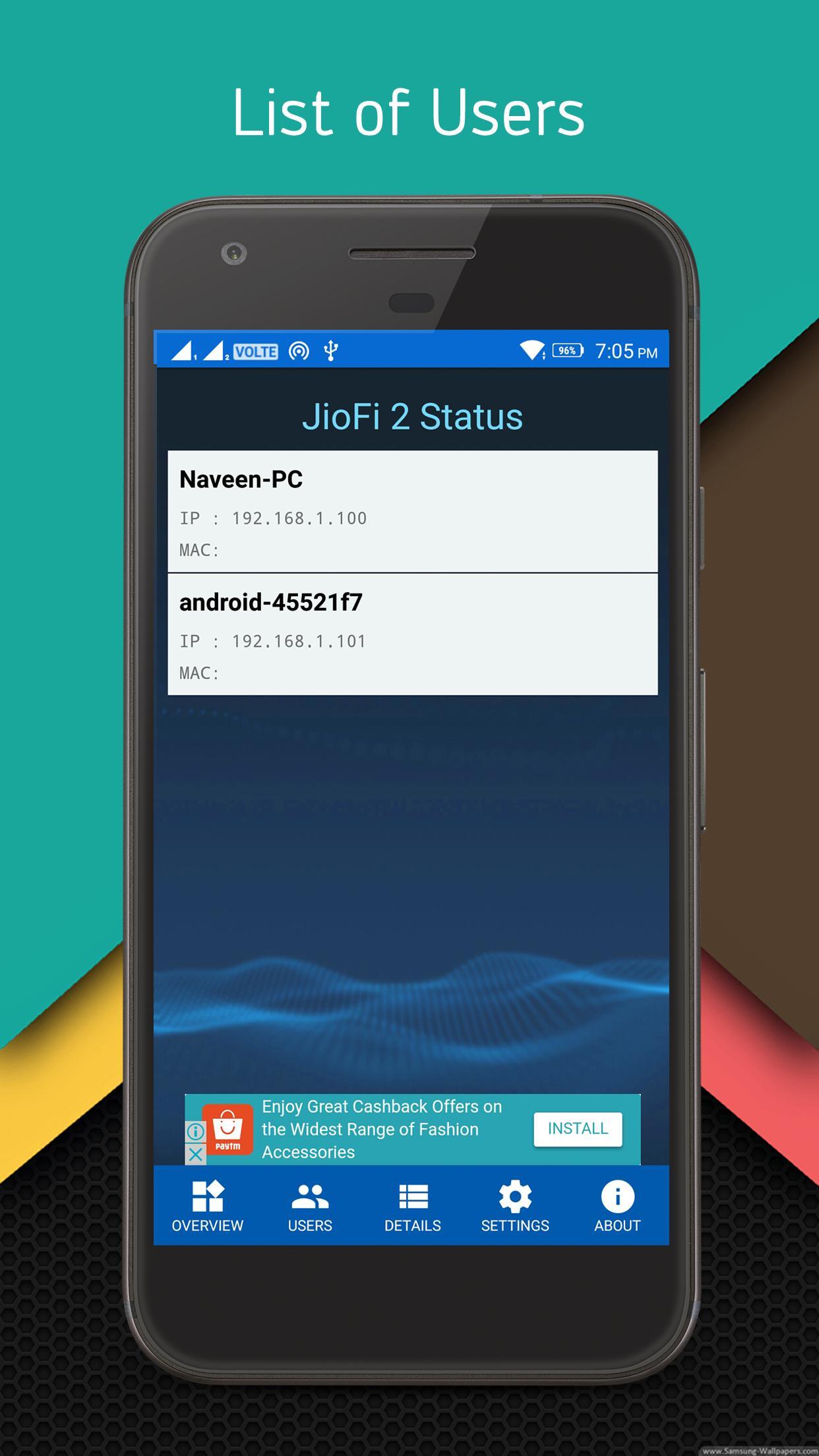JioFi 2 Status for Android - APK Download