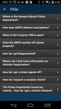 Newport Beach Police Dept apk screenshot