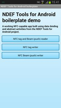 NDEF Tools for Android poster