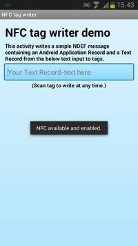 NDEF Tools for Android apk screenshot