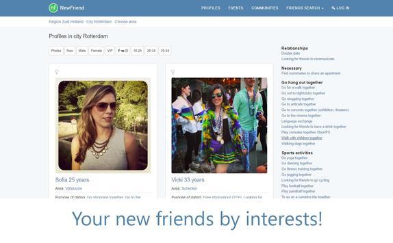 NewFriendOrg apk screenshot