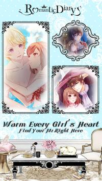 Romantic Diary: Anime Dress Up poster